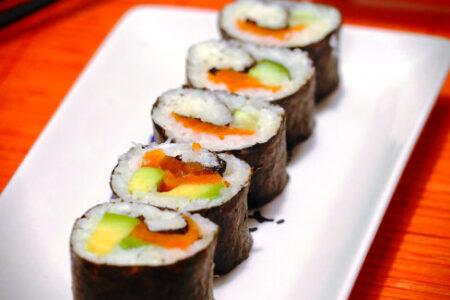 Kalafiorowe sushi