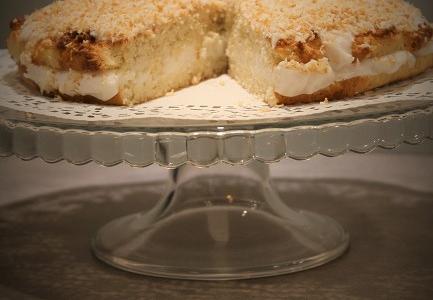 Migdałowo- kokosowy tort Rafaello
